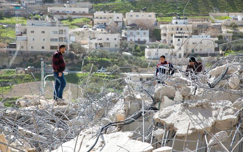 غالبية اوامر الهدم التي صدرت بحق الفلسطينيين تركزت في احياء القدس الشرقية والمنطقة«ج» في الضفة الغربية .  الامارات اليوم