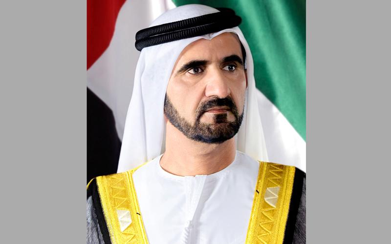 محمد بن راشد يفتتح شركة  عملات للطباعة الأمنية  في أبوظبي - الإمارات اليوم