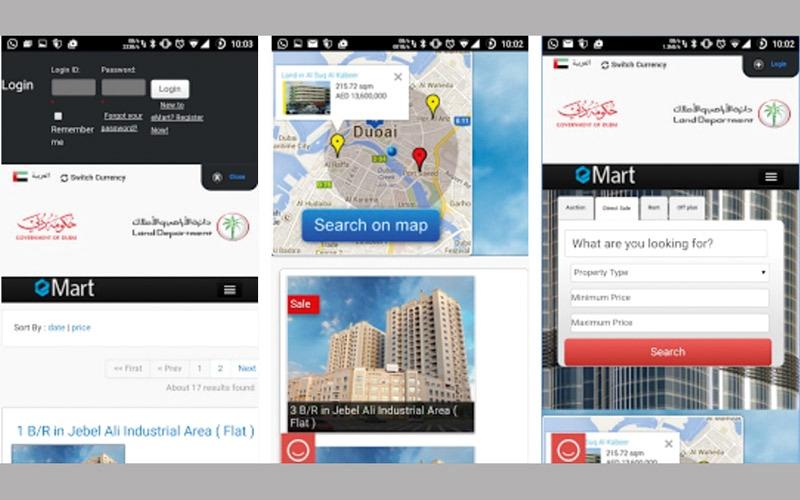 «إي مارت» منصة ذكية للقطاع العقاري في دبي