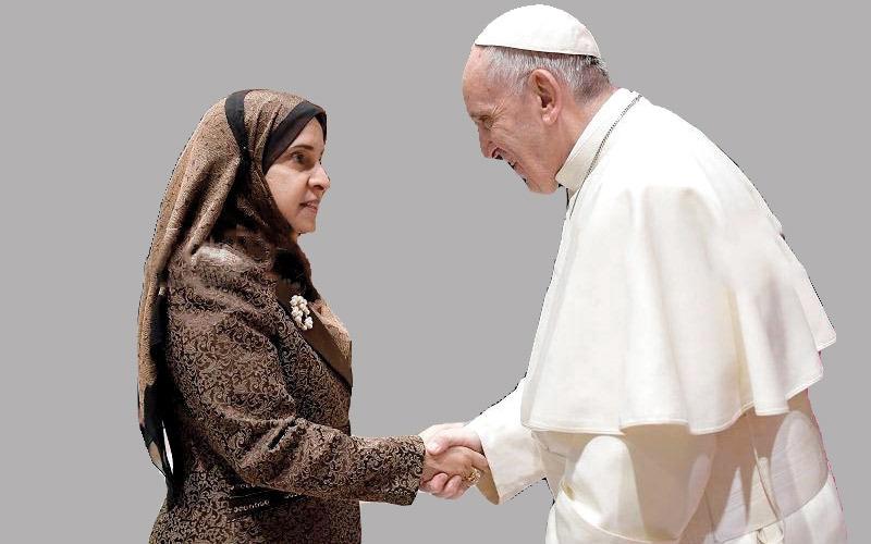 بابا الفاتيكان يشيد بسياسة التسامح في الإمارات