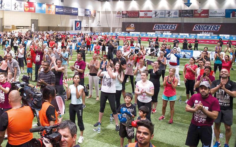 فعاليات متعددة في دبي ضمن مبادرة حمدان بن محمد للرياضة المجتمعية - الإمارات اليوم