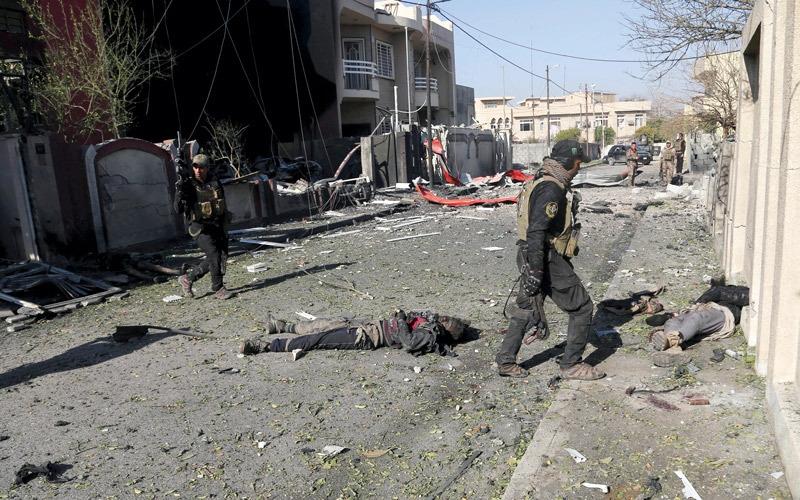 القوات العراقية تتقدم بحي الشرطة في الموصل