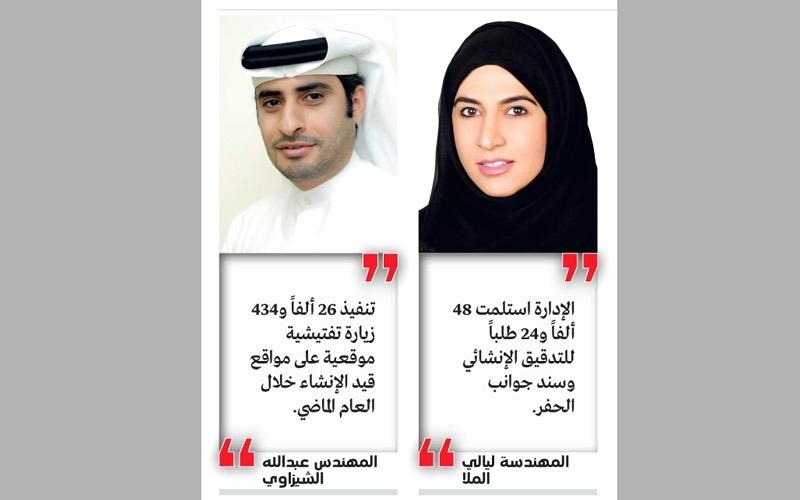 44 % زيادة المباني المنجزة في دبي العام الماضي