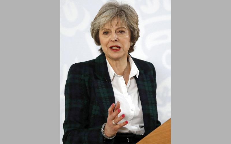 ماي: بريطانيا ستخرج من السوق الأوروبية الموحدة