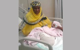 متبرع يسهم بـ 39 ألف درهم لعلاج «خديجة»