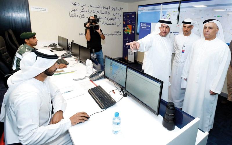 «طرق دبي» تفتتح مركزاً للرقابة الذكية