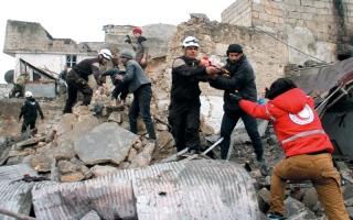 التحالف وروسيا يشنان غارات دعماً  للعملية التركية في سورية