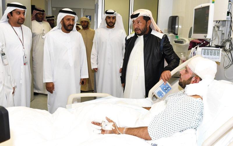 سلطــــان بن زايد: الإرهاب لن يزيد الإمارات إلا ثباتاً على الحق