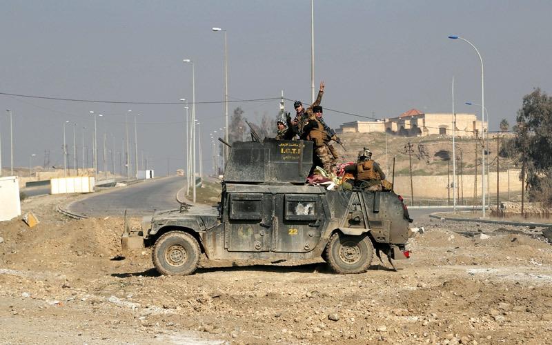 القوات العراقية تستعيد قضاء تلكيف شمال الموصل