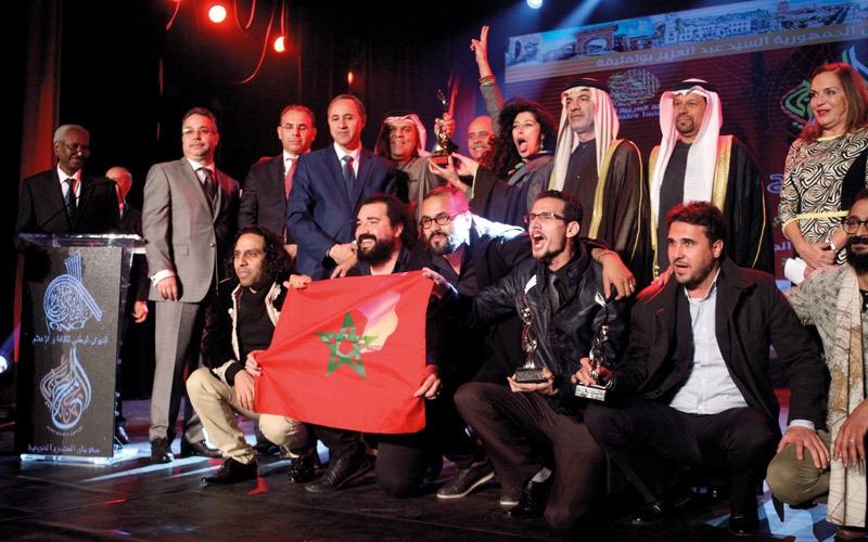 «خريف» المغربي.. يحصد جائزة سلطان القاسمي في «المسرح العربي»