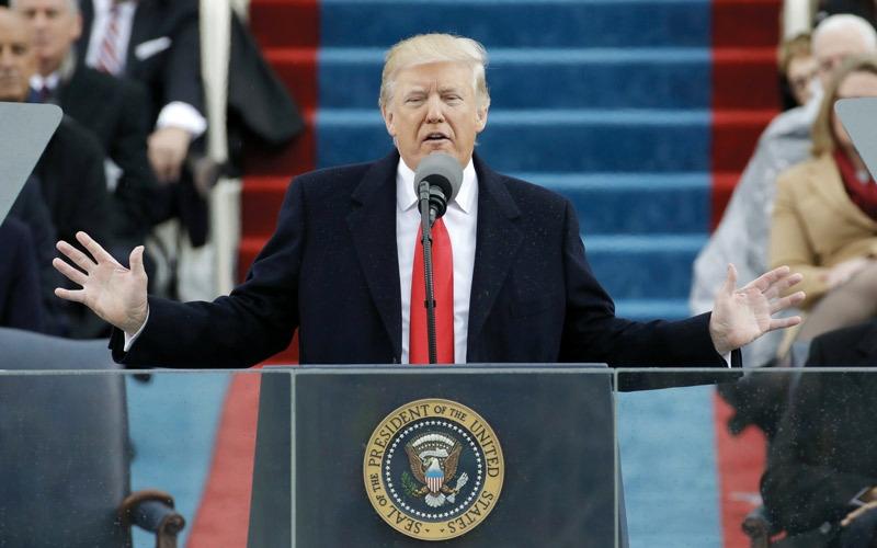 ترامب: ننقل السلطة من واشنطن إلى الشعب