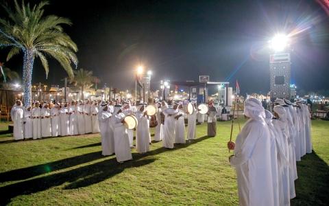 مهرجان زايد التراثي يجتذب مليوني زائر