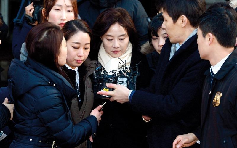 اعتقال وزيرة الثقافة في كوريا الجنوبية