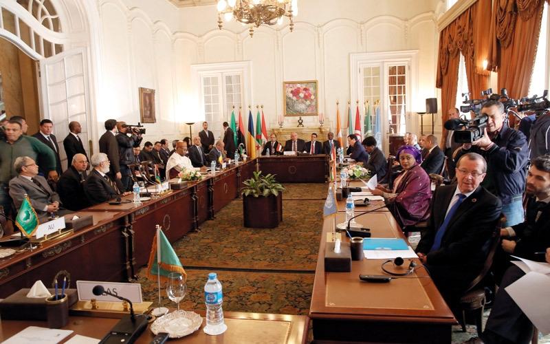 «دول الجوار» ترفض التدخل الأجنبي في ليبيا