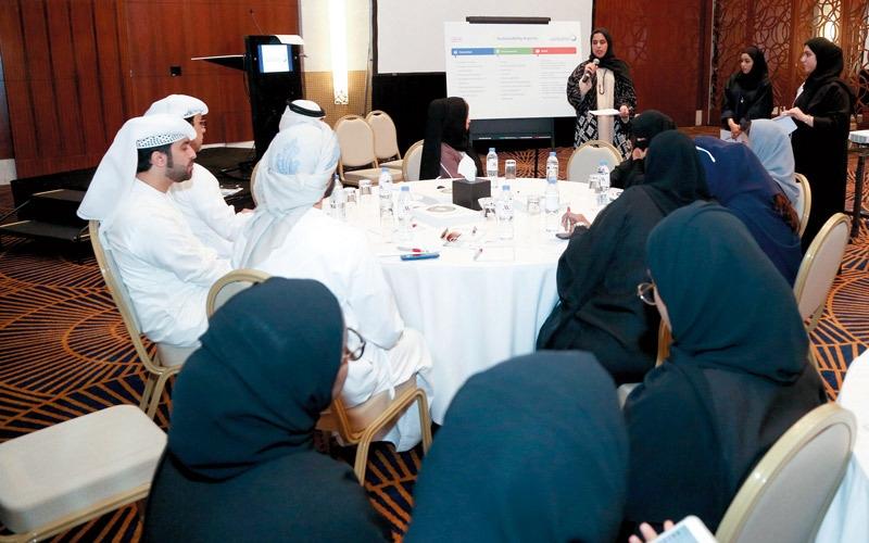«كهرباء دبي» تستعرض محاور العمل المجتمعي خلال «عام الخير»