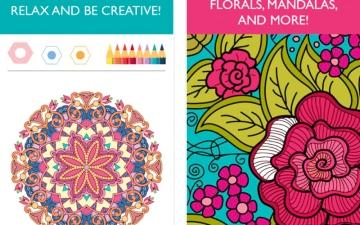 Colorfy.. للتخلص من القلق بتلوين اللوحات المركبة والزخرفية