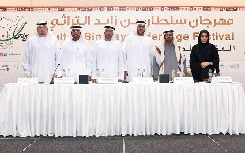 مشاركة كبيرة من أبناء الإمارات في المهرجان