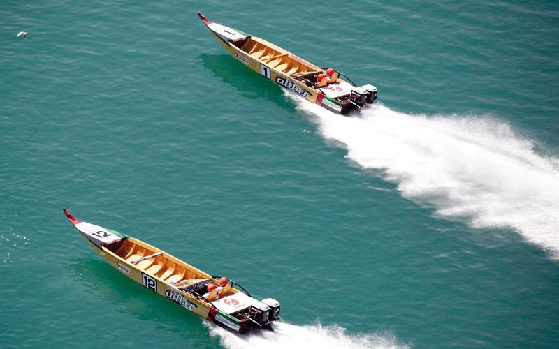 للقوارب الخشبية السريعة الجمعة المقبلة