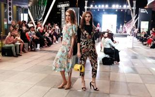 نسخة رابعة من عروض الأزياء الخارجية في دبي