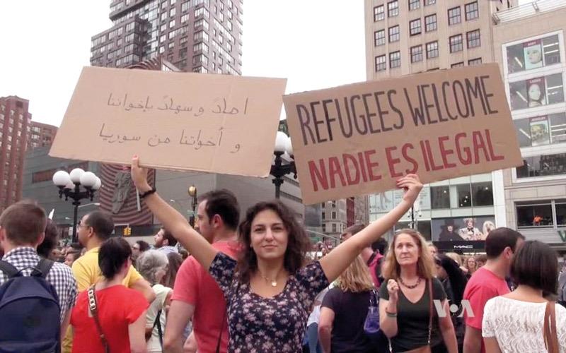 حظر الهجرة يمنع لقاء مواطنة أميركية وخطيبها السوري
