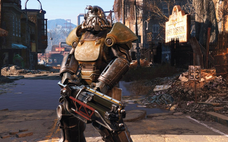 «بيثيسدا» تطلق تحديثاً للعبة Fallout 4