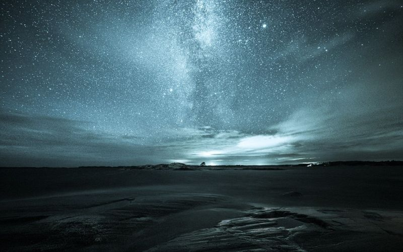 بالصور.. مليارات النجوم في ليلة واحدة