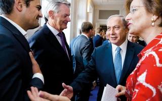 نتنياهو يتعرض لإهانة مريرة من رئيسة الوزراء البريطانية