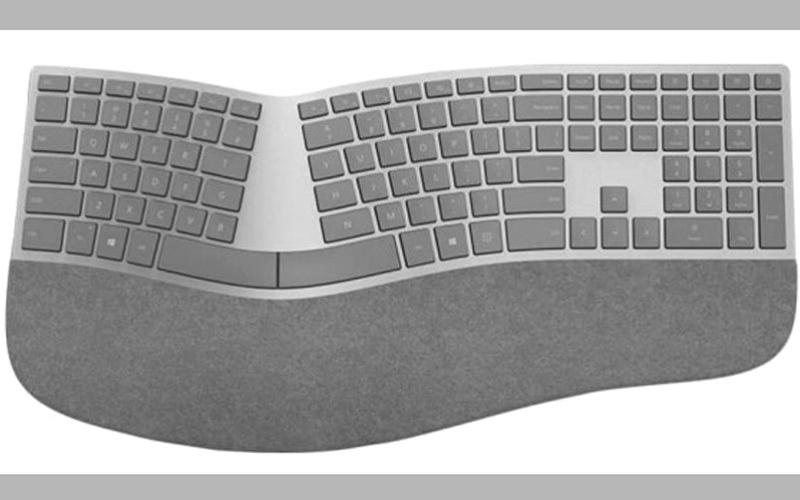 الصورة: «مايكروسوفت» تطلق لوحة مفاتيح جديدة