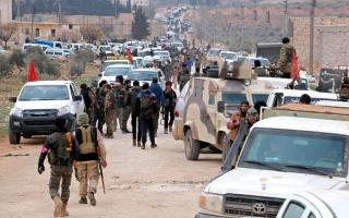 القوات التركية وفصائل سورية تدخل مدينة الباب الخاضعة لـ «داعش»