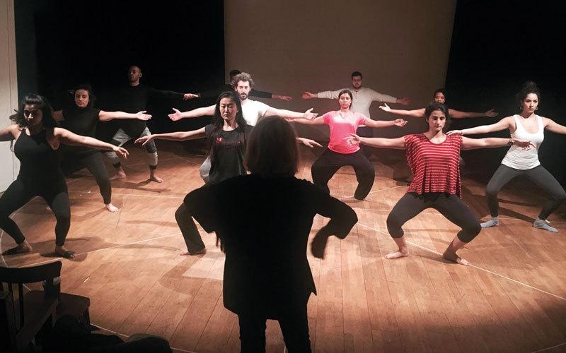 برنامج مسرحي احتفاء بالحوار الثقافي الفرنسي