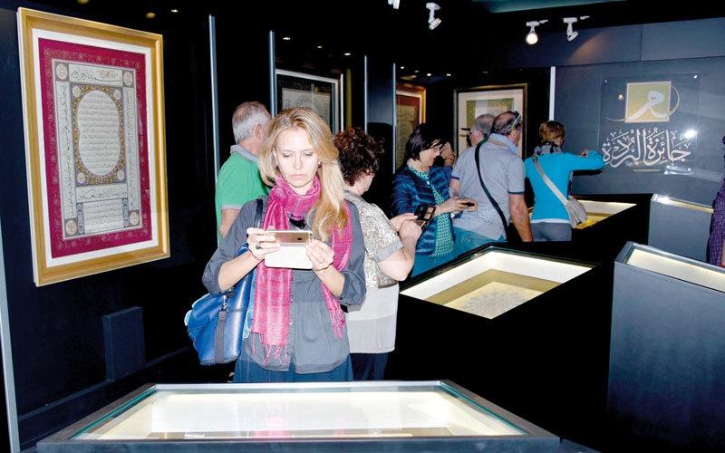 5000 زائر لـ «مقتنيات الثقافة» في أبوظبي