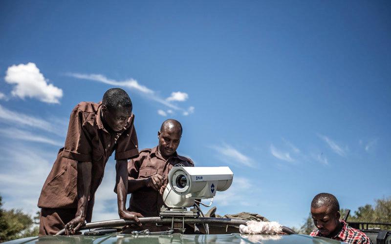 كينيا تستخدم كاميرات حرارية حديثة لرصد صيادي الفيلة