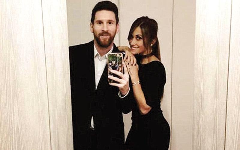 ميسي وأنتونيلا يؤكّدان زفافهما في «عيد الحب»