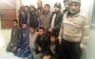 الصورة: تحرير 13 مصرياً مخطوفين في ليبيا