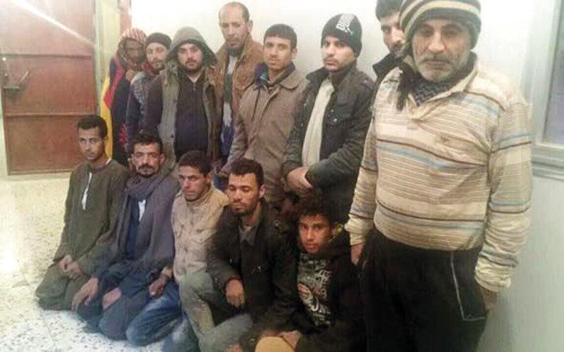 تحرير 13 مصرياً مخطوفين في ليبيا