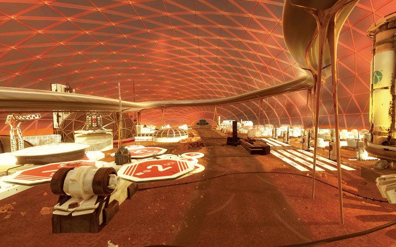 الإمــارات تبنــي أول مســتــوطنة بشرية على المريخ