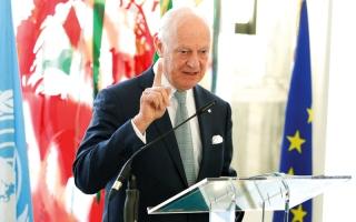 دي ميستورا: لا تغيير في جدول أعمال محادثات جنيف