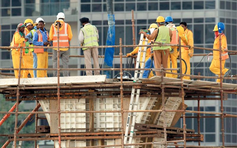 قاعدة بيانات في دبي لحوادث وإصابات العمال - الإمارات اليوم