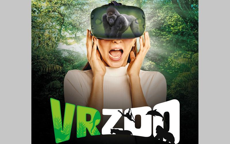 «حديقة حيوانات افتراضية» في دبي