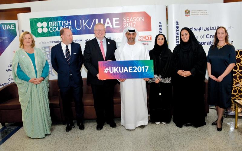 الإمارات - بريطانيا.. تكامل ثقافي في 2017