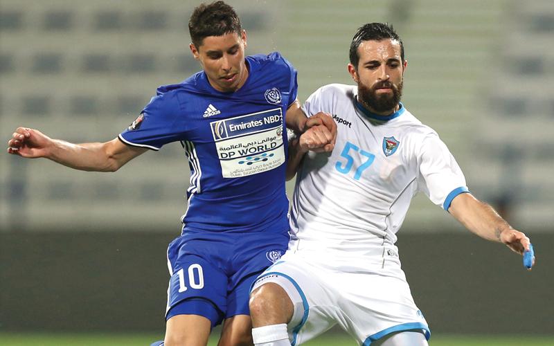 دبا يبحث عن الفوز الأول على النصر  في «الاحتراف» - الإمارات اليوم