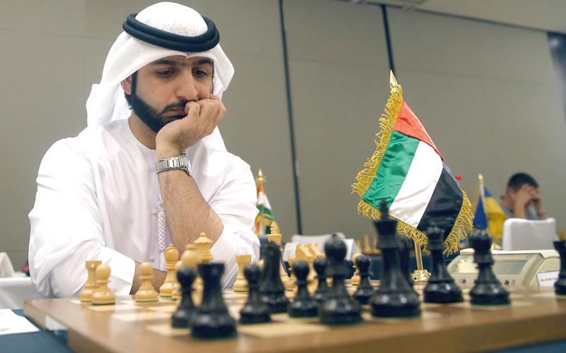 سالم عبدالرحمن استعد بقوة للحدث العالمي. من المصدر