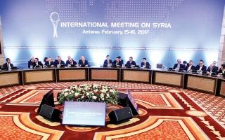 اختتام اجتماع «أستانة 2» بتعهد روسي بوقف الغارات