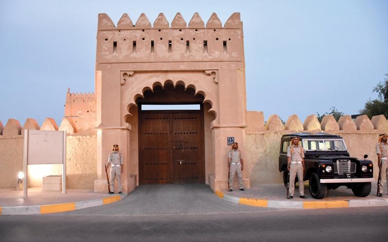 «أقرأ عن وطني»..«قلعة المربعة» نموذج العمارة القديمة في الإمارات