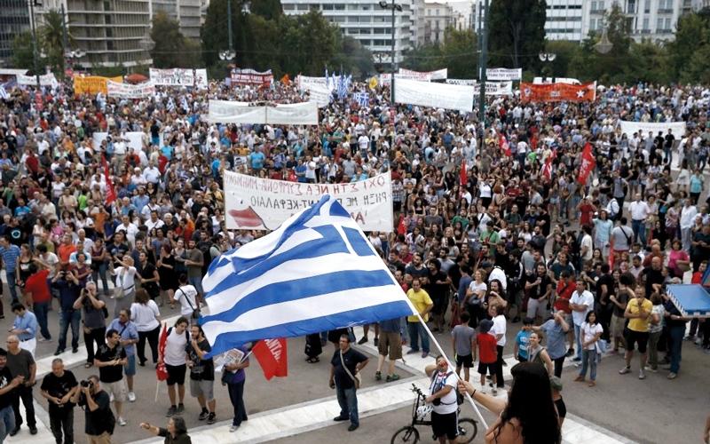 اليونان على شفا أزمة مالية أخرى