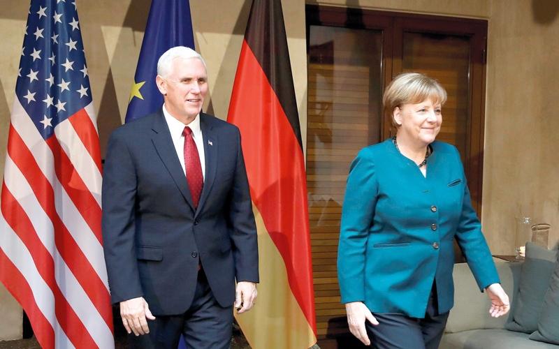 رسائل طمأنة تُخفق في تهدئة قلق  أوروبا من ترامب