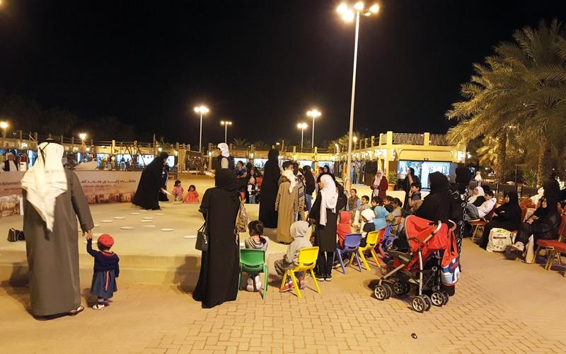 ملتقى زايد بن محمد العائلي يستضيف «براعم الخير»