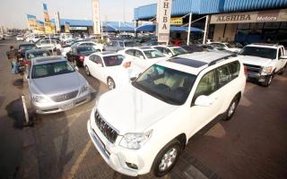 حظر استيراد 7 حالات من السيارات المستعملة اعتباراً من مايو 2017