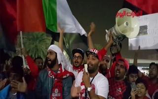 بالفيديو.. فرحة جماهير نادي الاهلي بعد فوزه على الاستقلال