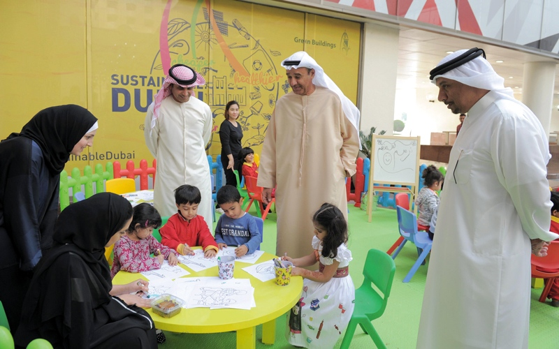 بلدية دبي تُطلق «نرسم بسمتهم» في «عام الخير»